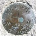 Image for NY DoT Survey Marker 430 - Vestal Rail Trail - Vestal, NY