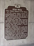 """Image for 9XM-WHA """"The Oldest Station in the Nation"""""""