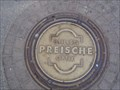Image for 'Preische' Manhole Cover Marktplatz Reutlingen, Germany, BW