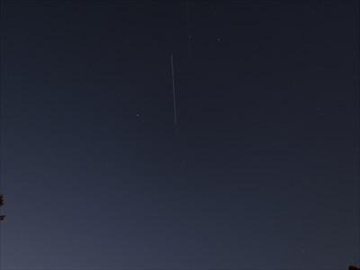 ISS High Overhead, Almaden Valley, San Jose, California
