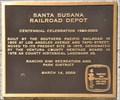 Image for Santa Susana Railroad Depot