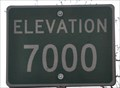 Image for US Highway 89A ~ Elevation 7000 Feet