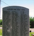 Image for Korean War ~ Boise City, OK