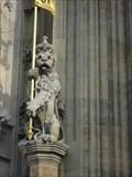 Image for Sovereign's Entrance Lion  -  London, UK