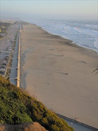 Ocean Beach from Sutro Heights Park