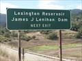 Image for  James J. Lenihan Dam - Los Gatos, CA