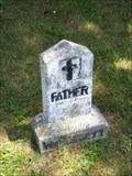 Image for Out of place and lonely grave marker