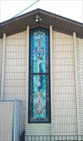 Image for Grace Lutheran Church Stained Glass Window - Bountiful, Utah