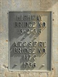 Image for Highway/A.T.&S.F. Ry. Bridge - 1936 ~ Matfield Green KS