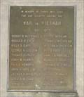 Image for Vietnam War Memorial, Veterans Memorial Park, Decatur, AL, USA