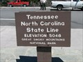 Image for Newfound Gap, Tennessee-North Carolina State Line, (5048 Feet)