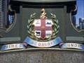 Image for City of Melbourne Coat of Arms, Princes Bridge, Victoria, Australia