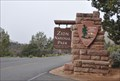 Image for Zion National Park ~ East Entrance