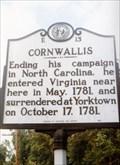 Image for Cornwallis-E 13