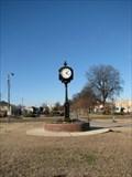 Image for Crosstie Walk Clock - Cleveland, Mississippi