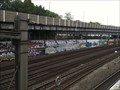 Image for Graffitis at the railway line - Basel, Switzerland