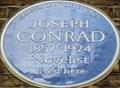 Image for Joseph Conrad - Gillingham Street, London, UK