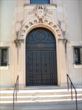 Image for St. Frances Cabrini Roman Catholic Church Door - Omaha, Nebraska