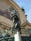 Image for Two Art Nouveau Atlas sculptures - Praha, CZ