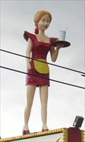 "Image for ""Big Girl"" Waitress - Colonial Family Restaurant - Flint, Michigan"