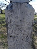 Image for FIRST Burial in Saginaw Cemetery - Saginaw, TX