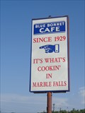 Image for The Blue Bonnet Cafe - Marble Falls, TX
