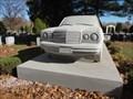 Image for The Mercedes Benz 240 Diesel - Linden Park Cemetery, Linden, New Jersey