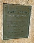 Image for Last Alarm Memorial - West Springfield, MA