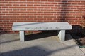 Image for WWII Memorial bench -- Saline County Veteran's Plaza, Benton AR