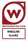 Image for ILuvAZ Waymarking Sticker - WMJ14N