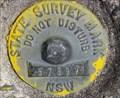 Image for NSW Survey Mark 57897, Katoomba NSW