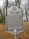 Image for Union XIIth Corps Winter Camp - Stafford VA