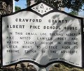 Image for Crawford County Albert Pike School House - Van Buren, AR