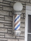 Image for Barber Poles, Salon Guy Alix, St-Cesaire, Qc