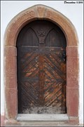 Image for Door at house N° 41 / Dvere domu c.p. 41 - Na schodech (Kourim, Central Bohemia)