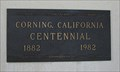 Image for Centennial Plaque - Corning, CA