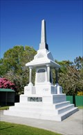 Image for Otautau War Memorial — Otautau, New Zealand
