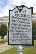 Image for 43-32 Potter's Headquarters / Federal Order of Battle