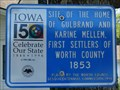 Image for First Settlers of Worth County - Northwood, IA