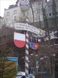 Image for Sister City Monument Haigerloch - Noyal sur Vilaine, Haigerloch, Germany BW