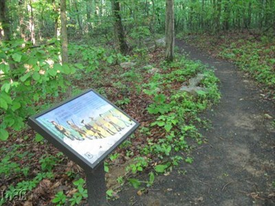 The trail has undergone many changes since Jackson marched through in 1862. Today it follows the path of old Rt. 211.