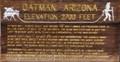 Image for Oatman, Arizona (South) - Elevation 2700