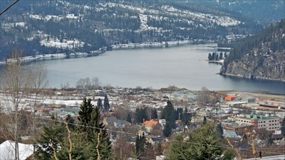 View at trailhead