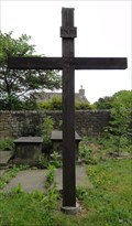 Image for Wooden Cross in St. James Churchyard – Tong, UK