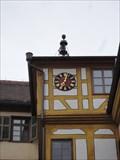 Image for Castle Clock - Schloss Hohentübingen - Tübingen, Germany, BW