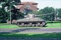 Image for M4 Sherman at Amersfoort, NLD