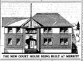 Image for Merritt Courthouse by Henry Whittaker - Merritt. BC