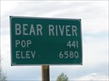 Image for Bear River, WY - 6,580 ft.
