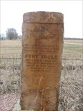 Image for Ft. Brule Historical Marker – rural Richland, SD
