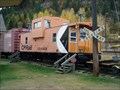 Image for Canadian Pacific Caboose CP 434526 - Castlegar, BC, Canada